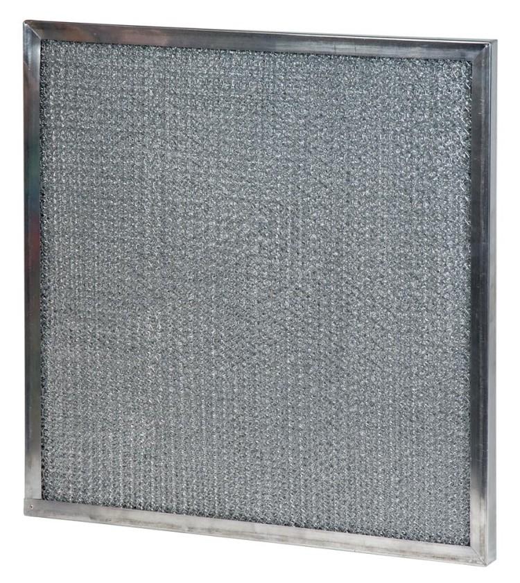 10 x 20 x 0.05 - 1/2 Inch Metal Mesh Filter 2-Pack