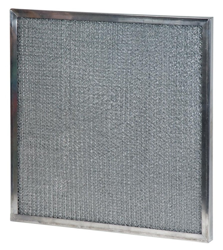 20 x 25 x 0.05 - 1/2 Inch Metal Mesh Filter 2-Pack