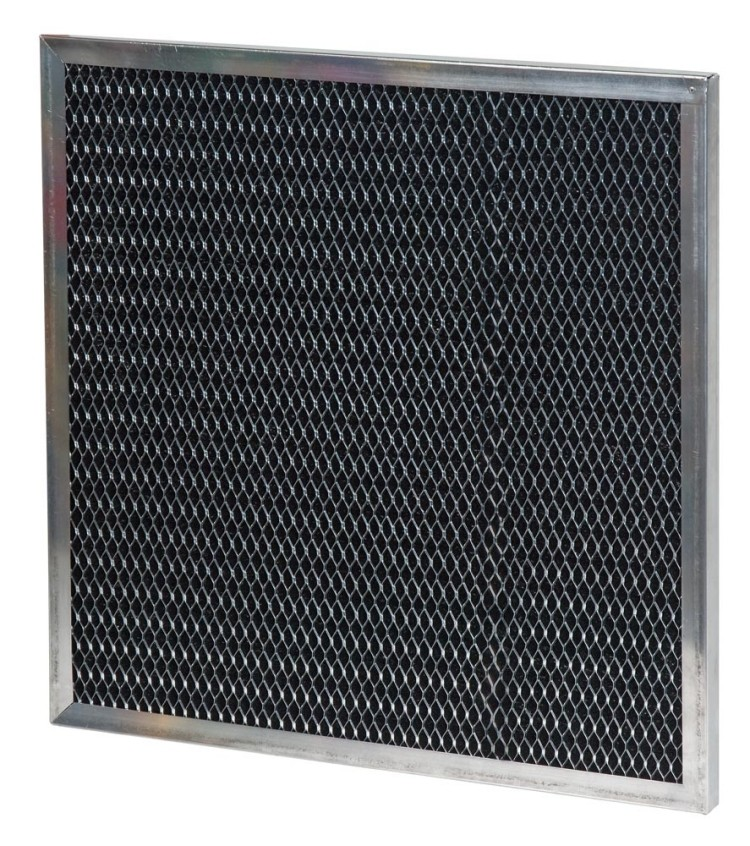 16 x 20 x 0.13 - 1/8 Inch Metal Mesh Filter with Carbon 2-Pack