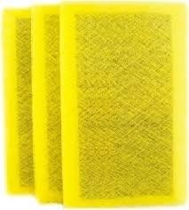14 x 14 x 1 (12.5 x 11.5 pad) Aftermarket Replacement Filter for Natures Home  3-Pack