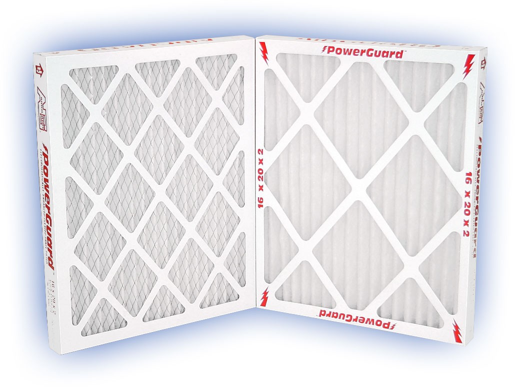 20 x 25 x 2 - PowerGuard Pleated Panel Filter - MERV 11 4-Pack