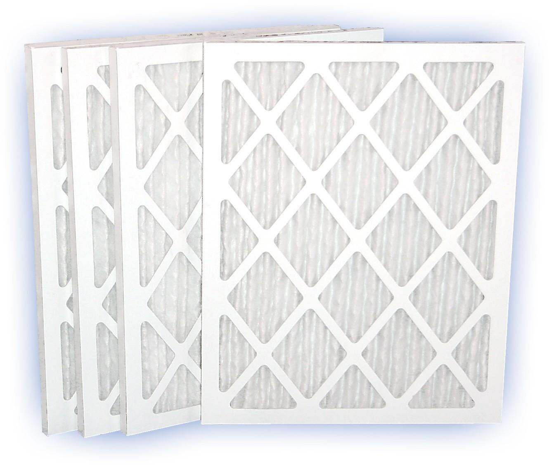 18 x 25 x 1 - DP Green 13 Pleated Panel Filter - MERV 13 4-Pack
