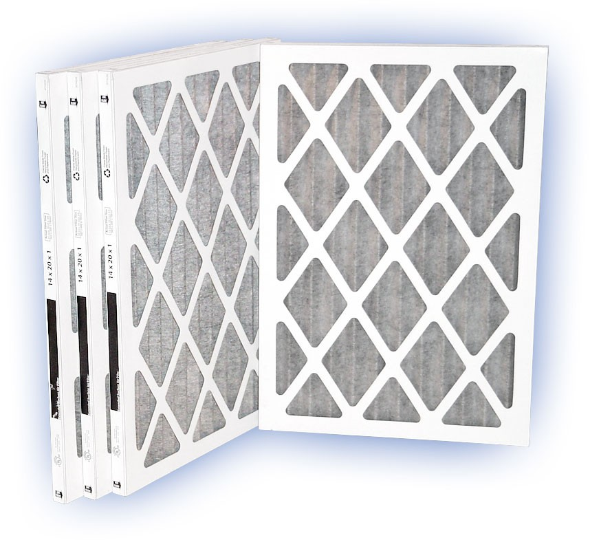 12 x 20 x 1 - Fresh Air Activated Carbon Filter - MERV 8 4-Pack