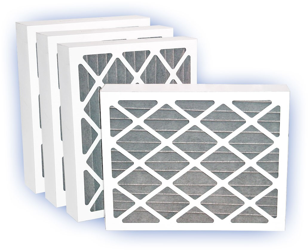 16 x 25 x 4 - Fresh Air Activated Carbon Filter - MERV 8 4-Pack