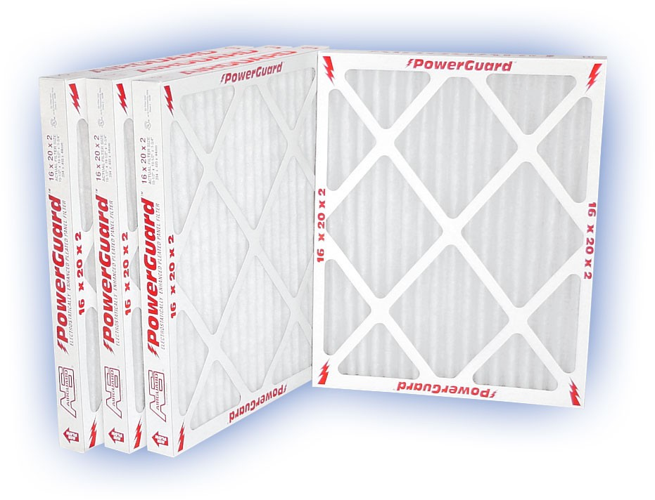 20 x 37 x 2 - PowerGuard Pleated Panel Filter - MERV 11 4-Pack