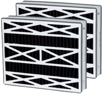 20 x 25 x 5 - Replacement Carbon Filters for Carrier 2-Pack