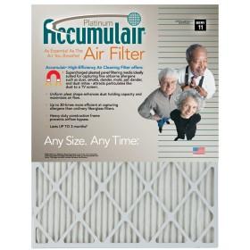 12 x 30 x 1 - Accumulair Platinum Filter - MERV 11