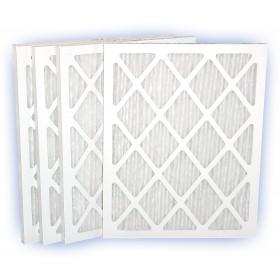 14 x 25 x 1 - DP Green 13 Pleated Panel Filter - MERV 13 4-Pack