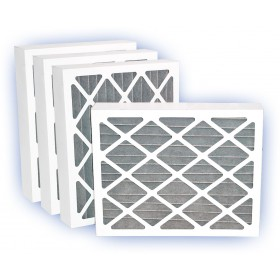 20 x 20 x 4 - Fresh Air Activated Carbon Filter - MERV 8 4-Pack