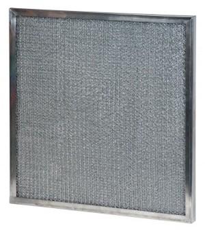 16 x 25 x -1/4 - 1/4 Inch Metal Mesh Filter 2-Pack