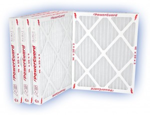 12 x 20 x 2 - PowerGuard Pleated Panel Filter - MERV 11 4-Pack