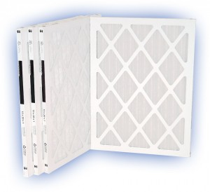 25 x 25 x 1 - DP MAX40 Pleated Panel Filter - MERV 8