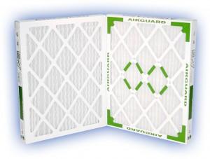 25 x 25 x 2 - DP Green 13 Pleated Panel Filter - MERV 13 2-Pack