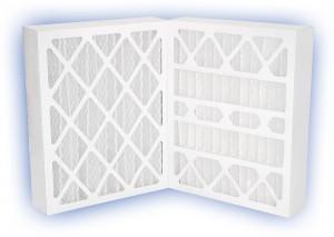 20 x 25 x 4 - DP Green 13 Pleated Panel Filter - MERV 13 2-Pack