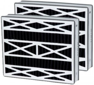 16 x 25 x 3 - Replacement Carbon Filters for Goodman 2-Pack