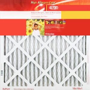10 x 20 x 1 DuPont High Allergen Care Electrostatic Air Filter 4-Pack