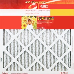 12 x 20 x 1 DuPont High Allergen Care Electrostatic Air Filter 4-Pack