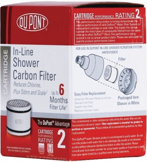 DuPont In-Line Shower Filtration Carbon Filter SSC0501