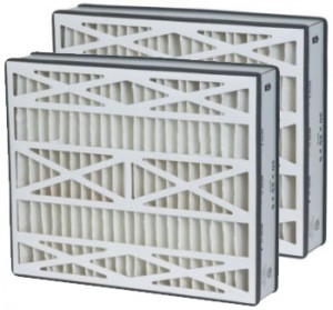 20 x 25 x 5 - Replacement Filters for Carrier - MERV 8 2-Pack