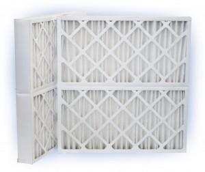 24 x 27-1/2 x 4 - PowerGuard Pleated Panel Filter - MERV 11 2-Pack