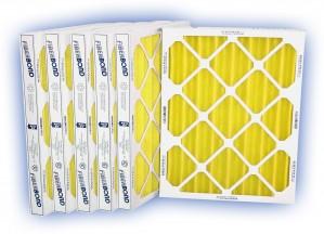 30 x 36 x 2 - Kleen Pleat Gold Panel Filter - MERV 7 - 4-Pack