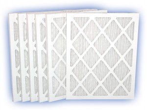 18-1/4 x 20-1/4 x 1 - DP Green 13 Pleated Panel Filter MERV 13 12-Pack