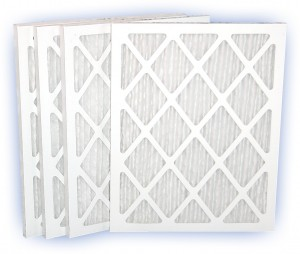 24 x 30 x 1 - DP Green 13 Pleated Panel Filter - MERV 13 4-Pack