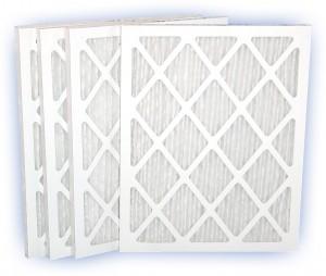25 x 25 x 1 - DP Green 13 Pleated Panel Filter - MERV 13 4-Pack