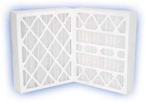 24 x 24 x 4 - DP Green 13 Pleated Panel Filter - MERV 13 2-Pack