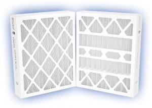 12 x 24 x 4 - DP MAX40 Pleated Panel Filter - MERV 8 2-Pack