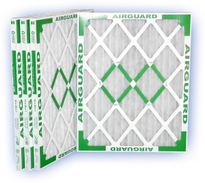 24 x 24 x 1 - PowerGuard Pleated Panel Filter - MERV 11 4-Pack