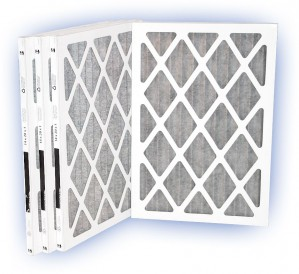 20 x 25 x 1 - Fresh Air Activated Carbon Filter - MERV 8 4-Pack