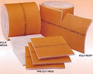 24 x 24 - Dustlok Dual-Ply Pad Filter (No Frame) - MERV 9 4-Pack